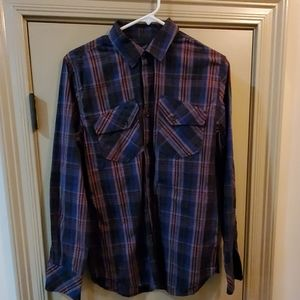 G by GUESS mens button up shirt